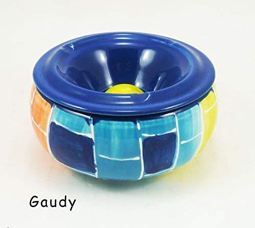 Cendrier à eau peint main - Gaudy