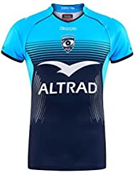 Kappa Montpellier 2017/18 - Maillot de Rugby Réplique Domicile - Bleu