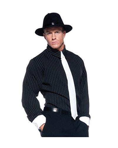 Gangster Hemd Premium (Herren-nadelstreifen-hemd)