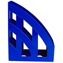 IDENA Magazine Rack Plastic A4 Blue