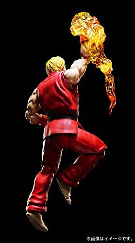 Bandai - Ken Masters Street Fighter Figuarts No.07, BDISF238942 5