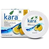 Kara Wipes Nail Polish Remover With Vitamin Removes Nail Polish, Lemon (30 Pulls) x (Pack Of 2)