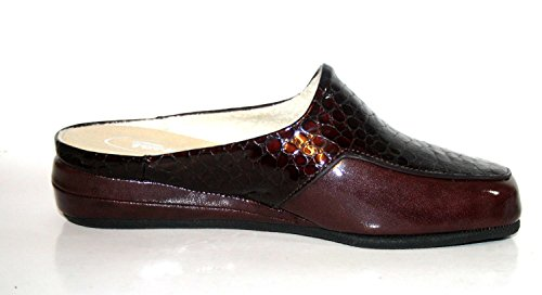 Fortuna, Pantofole donna Marrone marrone Marrone (Rot (Vino))