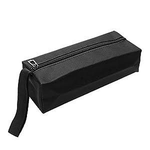 iTimo – Bolsa de herramientas para guardar herramientas, tornillos, clavos, brocas de metal, herramientas Oxford, portátil, resistente al agua, color negro