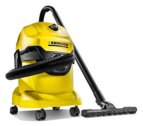 Kärcher WD4 - Aspirador multiuso, boquilla para aspiración en seco y húmedo, depósito 20 l, 1000 W, 220 - 240 V