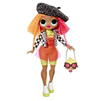 L.O.L. Surprise! O.M.G. Neonlicious Fashion Doll with 20 Surprises, Multi-Colour