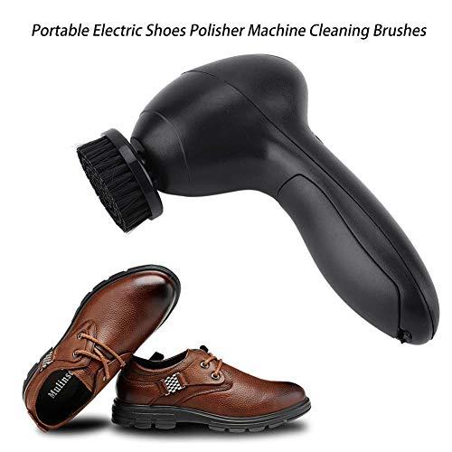Schuh-polierer (Zunate Schuhputzmaschine,Tragbare Multifunktional wiederaufladbar Schuh Polierer Pinsel Lederbürste Leder Schuhe Polieren Schuhpflege Bürste Reinigungsbürste,für Lederprodukte)
