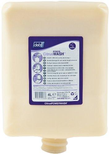 Deb Cit4ltr Citrus Power Wash, 4 litre