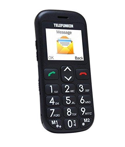 Telefunken TM 110 Cosi 1.77' 170g Negro - Teléfono móvil (SIM única, Despertador, calculadora, Calendario, Grabadora, Ión de Litio, gsm, Micro-USB, TFT)