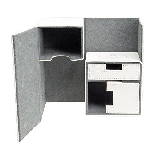 Ultimate Guard UGD010228 - Twin Flip and Tray Deck Case 160+ Standardgröße Xeno Skin, weiß (Box Weiß Card Deck)