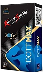 Kamasutra Dott max 2064 raised Dots condoms - 6s