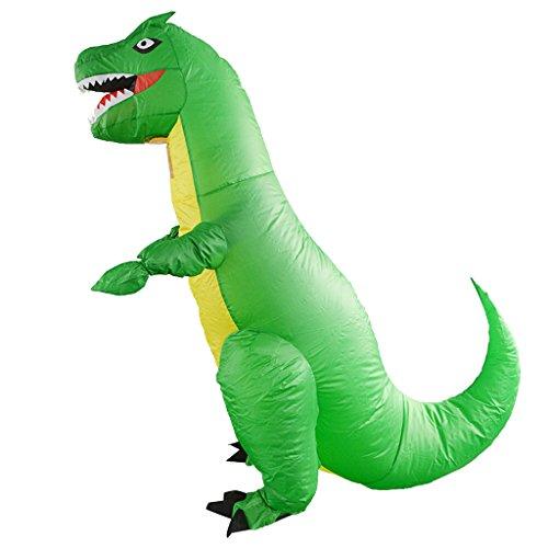 lasbares Kostüm Luft Anzug Volles Körper Kostüm Fatsuit, Dinosaurier Kostüm, Perfekt für Alle Party und Karneval (Fett Körper Suit Kostüm)