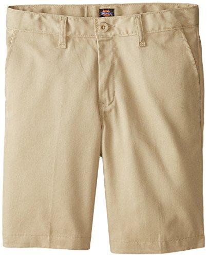 Dickies Junge R0700 Flat Front Shorts, 8 Husky, Desert Sand (Husky Shorts Jungen)