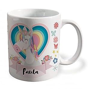 BEE INGENIOUS Taza unicornio personalizada