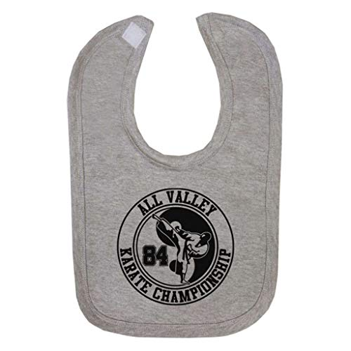 All Valley Karate Kid Championship 84 Baby And Toddler Velcro Close Bib