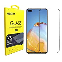 Case Friendly 2.5D Full Coverage Tempered Glass Foils Screen Protector For Huawei P40