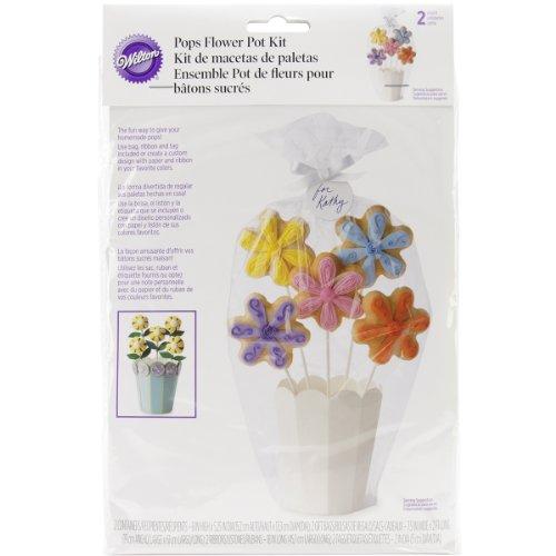 Wilton Ständer und Geschenkverpackung für CakePops, 2-teiliges Set (Cake Pops Boxen)