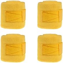 ein 4 er Set Fleece-Bandagen in vielen Farben wählbar