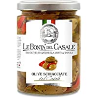 ITALIADELIZIE – Olives cepillados 280 gr – Producto artesanal italiano