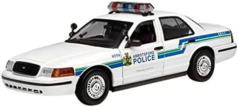 2001 Ford Crown Victoria [Motormax 73507], Abbotsford Police, 1:18 Die Cast   Outlet Store
