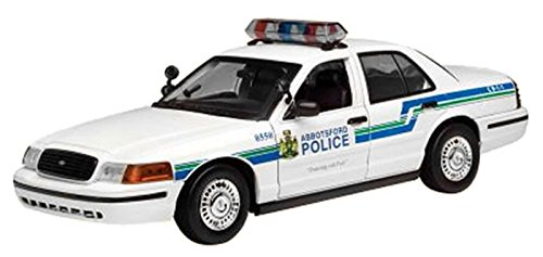 2001 Ford Crown Victoria [Motormax 73507], Abbotsford Police, 1:18 Die Cast