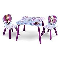 Preisvergleich für Delta Frozen Kleiner Tisch und Stühle (Lila)