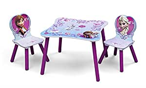 frozen kleiner tisch und st hle lila k che. Black Bedroom Furniture Sets. Home Design Ideas