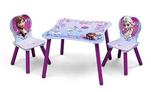 Delta Children Mickey Mouse Juego de Mesa y sillas, Tela, Multi, 60 x 60 m