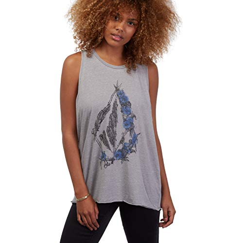 Volcom Pony Gold Tank Top Damen M Gunmetal Grey - Volcom Tank-tops
