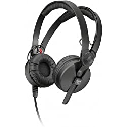 Sennheiser HD 25-1-II Basic Edition - Auriculares de diadema abiertos, color negro