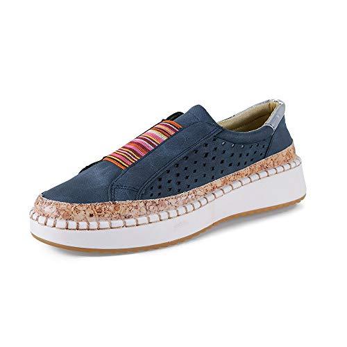 Mocasines Mujer Plataformas Slip On Plano Loafers