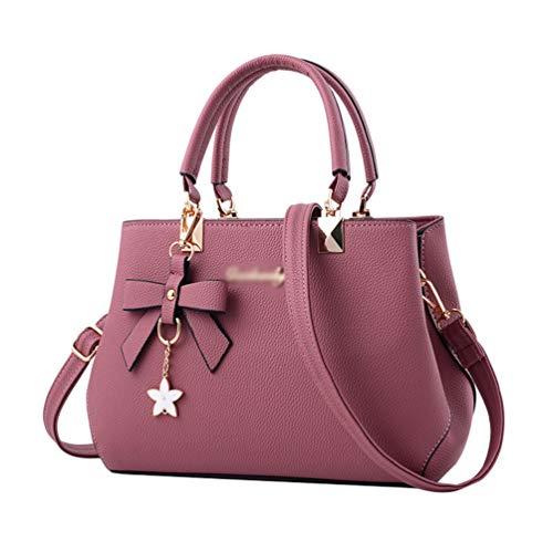 YAANCUN Damen Handtaschen Groß Taschen Leder Moderne Handtasche Gross Schultertasche Frauen Umhängetasche