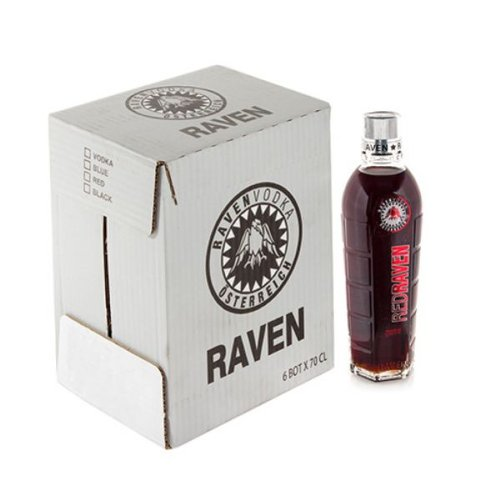Genérico - Vodka Rojo Red Raven