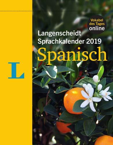 Langenscheidt Sprachkalender 2019 Spanisch - Abreißkalender