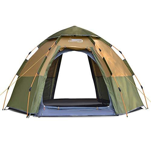 K-Y Outdoor Kuppelzelt 5-8 Personen faltbares Campingzelt Outdoor Wandern Picknick Campingzelt (Farbe : C)