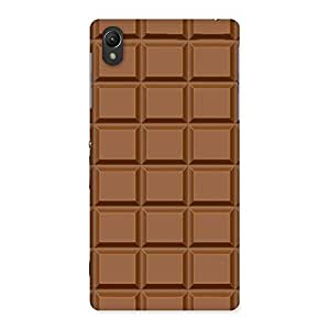 Delighted Classic Chocolate Back Case Cover for Sony Xperia Z2