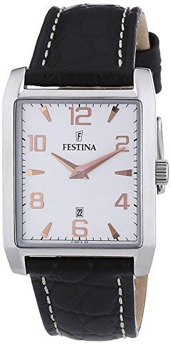 Festina Women's Quartz Watch F16515/6 with Leather Strap