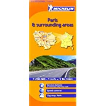 Michelin Map France: Paris and Surrounding Areas MH514 1:200K (Maps/Regional (Michelin)) (English and French Edition) by Michelin (2007-01-01)