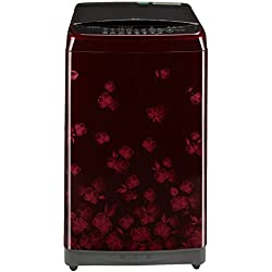 LG 7.5 kg Fully-Automatic Top Loading Washing Machine (T8577TEELX, Florid Red)