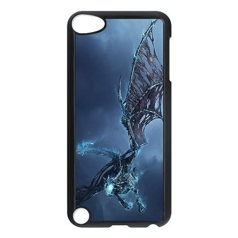 H6G63 Ice Dragon World of Warcraft O9K1IN iPod Touch 5 Fall Hülle schwarz PK4YNN4VN decken
