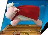 Worms Super Sheep Plüsch mit Soundasugabe [Edizione: Germania]