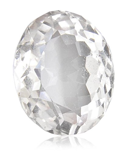 White Topaz 6 Ratti Certified Natural Gemstone