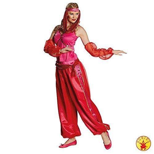 Bollywood Nacht Kostüm - Orient Kostüm Jeanie Größe 38, 1001 Nacht Flaschengeist arabische Tänzerin Bollywood Suleika (38)