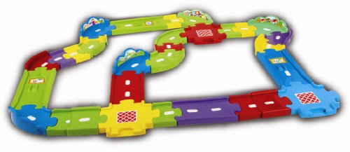 VTech Baby Toot-Toot Drivers Deluxe Track Set, Multi-Colour