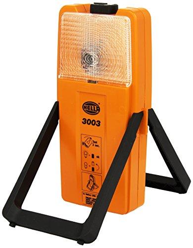 Preisvergleich Produktbild Hella 2XW 007 146-001 Warnleuchte Modell 3003 ACCU mit 6V-Glühlampe für Akkubetrieb,  Sicherheits-Warnblinkleuchte,  Arbeitsleuchte gelb / weiß mit Blinklicht