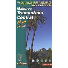 Tramuntana Central Wanderkarte 1 : 25 000