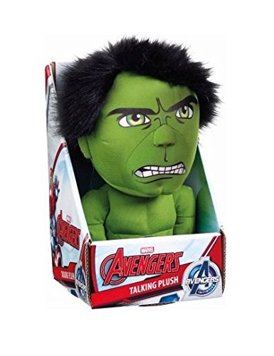 Marvel Medium Talking Hulk Plush Toy