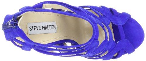 Pompe Steve Madden Platform Dysert Blue Suede