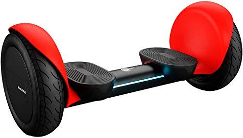"Wheelheels Balance Scooter, Hoverboard \'Alpha\' - 10\"" Luftreifen, Wasserdicht, Aluminiumkarosserie (Rot)"