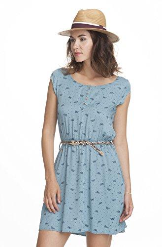 Ragwear Damen Kleider / Kleid Zephie Dusty Blue